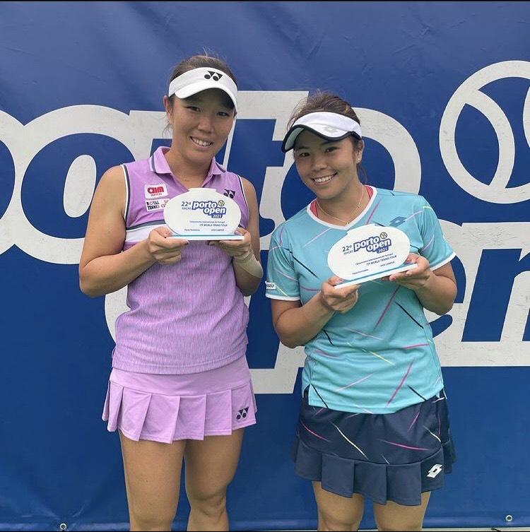 【ダブルス】大前綾希子選手 ポルト・オープンで準優勝!