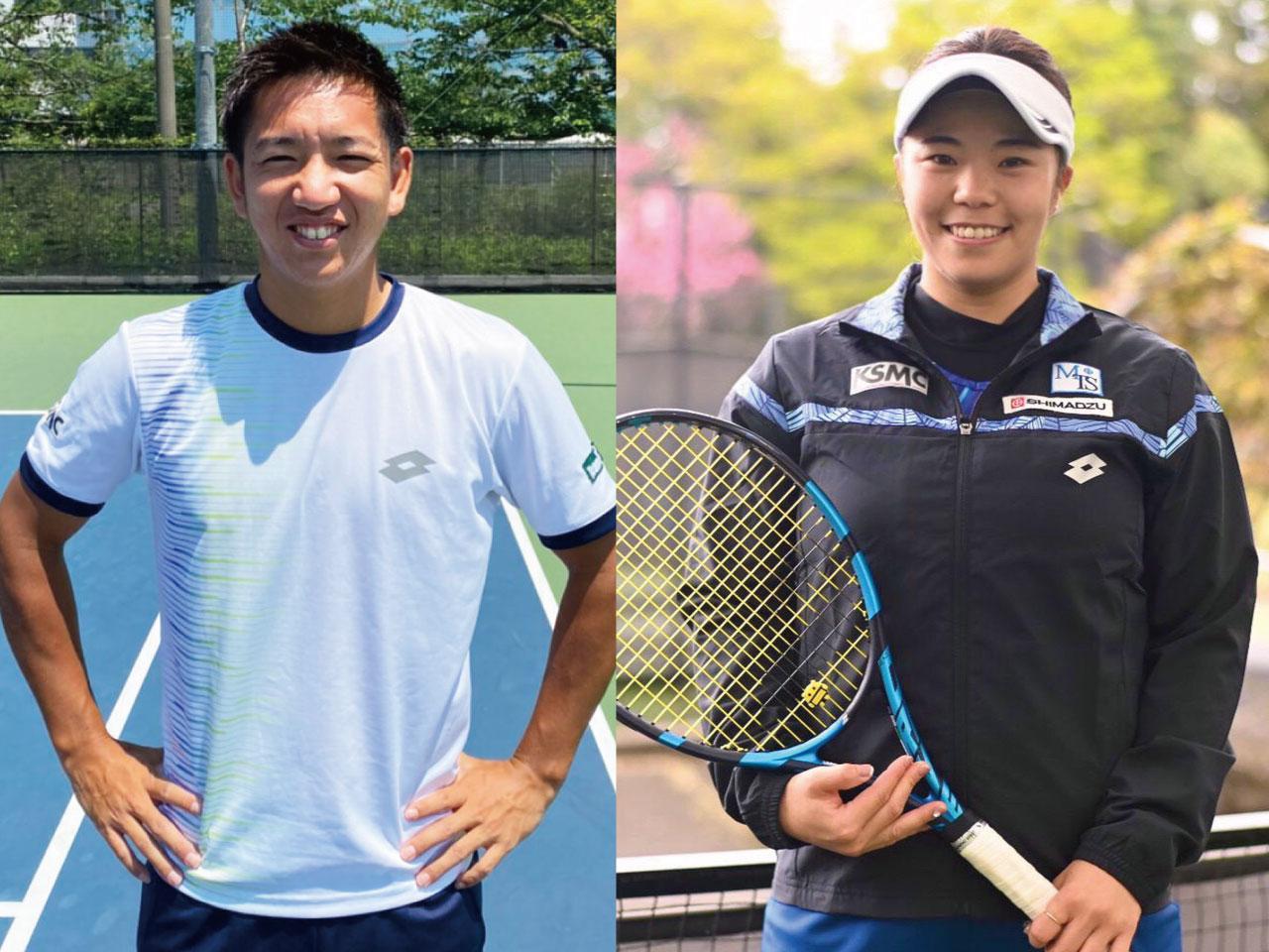 【テニス】関口選手、大前選手の記事が掲載されました!